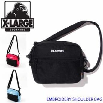 XLARGE エクストララージ ショルダーバッグ【EMBROIDERY SHOULDER BAG】X-LARGE メンズ 01195015