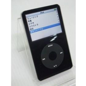 [中古] デジタルメディアプレーヤー Apple iPod 60GB ブラック  MA147J/A