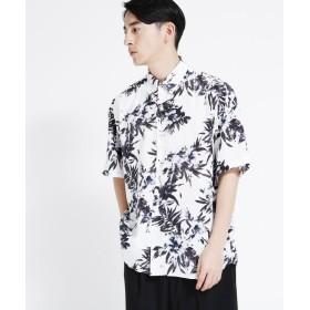 tk.TAKEO KIKUCHI(ティーケー タケオ キクチ) LiLy フラワープリントビッグシャツ