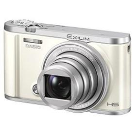 CASIO デジタルカメラ EXILIM EX-ZR3200WE 自分撮り・みんな撮りが簡単 スマホへ自動転送 中古 良品
