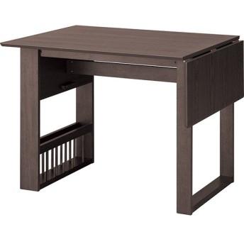 伸長式ダイニングテーブル(ロピア2 DBR) ニトリ 『玄関先迄納品』 『5年保証』