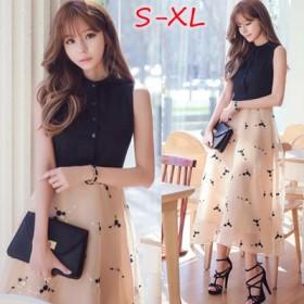 韓国ファッション 新作シンプル/縞模様/無地 ワンピース/ブラウス/ドレス/ロングシャツ 分けって着てよくて、ほかの衣服を組合わせていいです