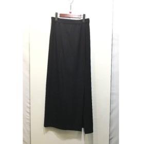 経堂) Y's Yohji Yamamoto ワイズ ヨウジヤマモト ロングスカート サイズ3 ブラック