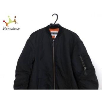スライ SLY コート サイズfree F レディース 黒 冬物/ロングMA-1/袖ギャザー 新着 20190511