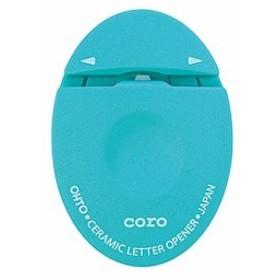 オート セラミックレターオープナー コロ CLO-700C-BL ブルー