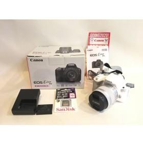 二子玉) canon EOS Kiss X9 EF-S18-55 IS STM レンズキット 2420万画素 デジタル一眼レフ カメラ 新品同様 カメラバッグセット