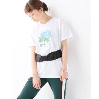 JOURNAL STANDARD 【ZAYAN THE LABEL】ZAYAN THE LABEL FLORA TEE:Tシャツ ホワイト M