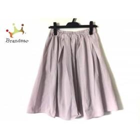 ジャスグリッティー JUSGLITTY スカート サイズ2 M レディース 美品 ピンク ウエストゴム     スペシャル特価 20191213