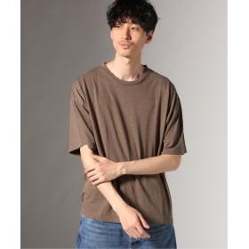 JOURNAL STANDARD ヘンプコットン クルーネック Tシャツ ブラウン B L