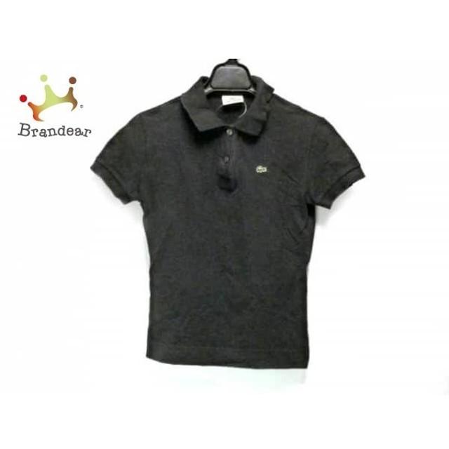 ラコステ Lacoste 半袖ポロシャツ サイズ38 M レディース 黒   スペシャル特価 20190801