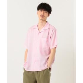 【40%OFF】 シェアパーク カラーオープンカラー シャツ メンズ ピンク系 2 【SHARE PARK】 【セール開催中】