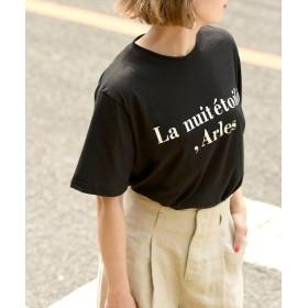 コカ ロゴプリントTシャツ レディース BLACK ONESIZE 【coca】