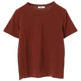 【オンワード】 koe(コエ) 半袖カットソーTシャツ Brown S レディース 【送料無料】