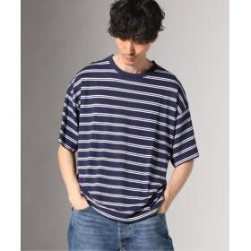 JOURNAL STANDARD ヘンプコットン クルーネック Tシャツ ネイビー S