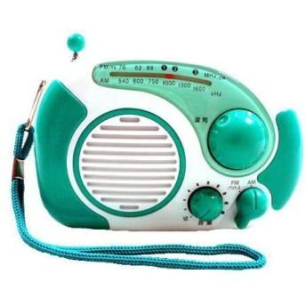 防滴お風呂ラジオ KSR-20G (グリーン)