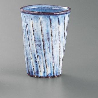 萩焼(はぎやき) 流線紋 ロック碗【ロックグラス ろっくぐらす コップ こっぷ