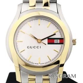 b05d4f7a4123 グッチ GUCCI Gクラス 5500M Ref.YA055313 クォーツ メンズ 腕時計 ec 【アウトレット】