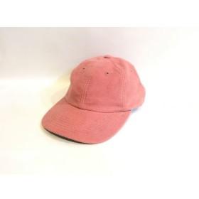 二子玉) オンリーニューヨーク ONLY NY Polo Hat キャップ モールスキン ピンク メンズ レディース