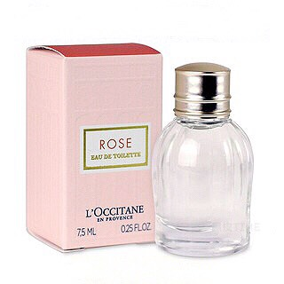L'OCCITANE 歐舒丹 玫瑰花園淡香水 7.5ML 黑皮TIME 42101