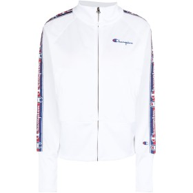《期間限定 セール開催中》CHAMPION REVERSE WEAVE レディース スウェットシャツ ホワイト XS ポリエステル 100% HIGH NECK SWEATSHIRT