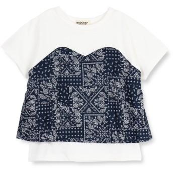 [マルイ]【セール】ビスチェ風半袖Tシャツ/ブランシェス(branshes)