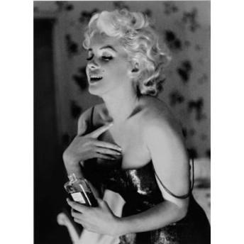 マリリン・モンロー ポスター/Marilyn Monroe フレーム付 シャネル