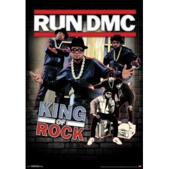 RUN DMC ポスター/King of Rock フレーム付