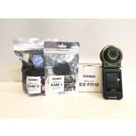 二子玉) カシオ CASIO EXILIM EX-FR10 セパレート型デジタルカメラ グリーン 1400万画素 おまけ付