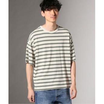 【60%OFF】 ジャーナルスタンダード ヘンプコットン クルーネック Tシャツ メンズ グリーン L 【JOURNAL STANDARD】 【セール開催中】