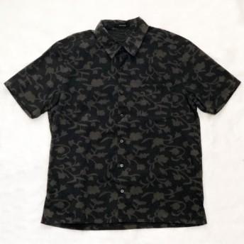 [期間限定 50%OFF] バティック カットジャガード 半袖シャツ 【メンズ】