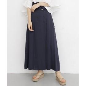 KBF(ケービーエフ) スカート スカート ダブルボタンハイウエストスカート
