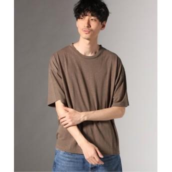 【60%OFF】 ジャーナルスタンダード ヘンプコットン クルーネック Tシャツ メンズ ブラウンB M 【JOURNAL STANDARD】 【セール開催中】
