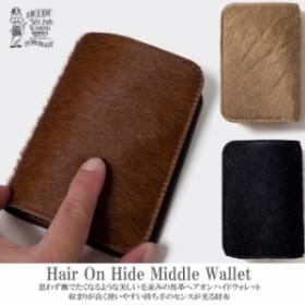 6b5f594e514f ORGUEI オルゲイユ 通販 OR-7087 Hair On Hide Wallet ヘアオンハイドウォレット ミドルウォレット