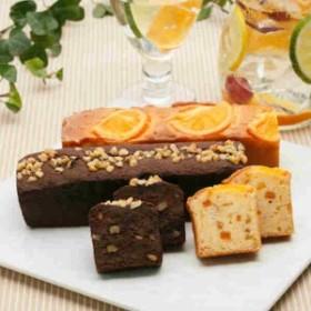 帝国ホテルキッチン ケーキ2本セット(オレンジケーキ・チョコブラウニーケーキ)