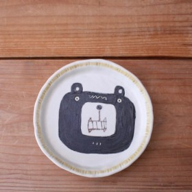クマの小皿