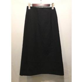 経堂) セオリー Theory BISTRETCH DOUBLE2 GWEN スカート 定価2.4万 ブラック サイズ2