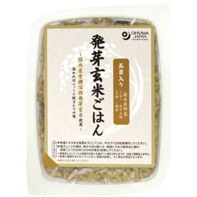 五目入り活性発芽玄米ごはん 160g オーサワジャパン