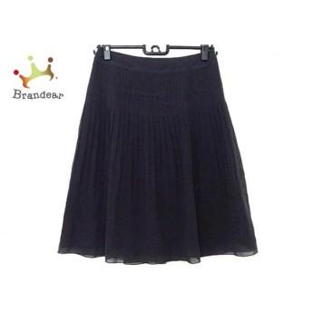 ニジュウサンク 23区 スカート サイズ36 S レディース 美品 黒 プリーツ スペシャル特価 20190823