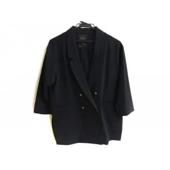 【中古】 スピック&スパン ノーブル Spick & Span Noble ジャケット サイズ36 S レディース ダークネイビー