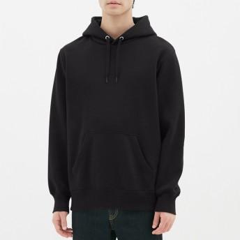 (GU)スウェットプルパーカ(長袖) BLACK XL