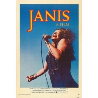 ジャニス・ジョプリン JANIS JOPLIN 1975 ポスター(シアターサイズ)/フレーム付
