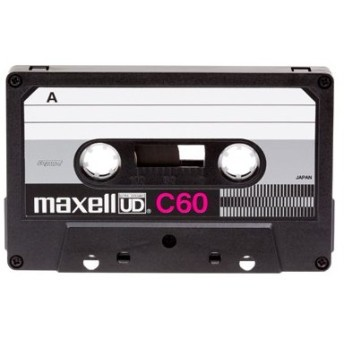 日立マクセル maxell 復刻版 カセットテープUDC60分 UD C60