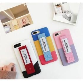 送料無料!かわいいチャーム付き ポップ柄 iphoneケース