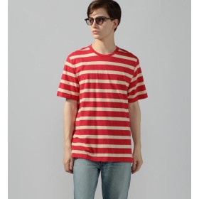 【トゥモローランド/TOMORROWLAND】 POP TRADING COMPANY BIG STRIPE Tee