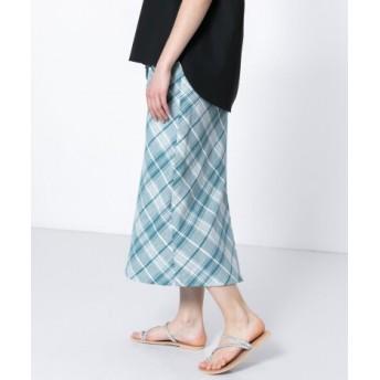 SENSE OF PLACE(センスオブプレイス) スカート スカート チェックナロースカート