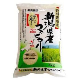 特別栽培 新潟産こしひかり5kg 直送品 代引き決済不可  ID:E8401578