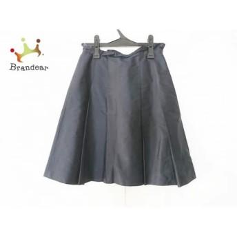 トゥモローランド TOMORROWLAND スカート サイズ36 S レディース ネイビー スペシャル特価 20190822