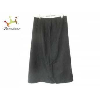 レリアン Leilian ロングスカート サイズ11 M レディース 美品 黒 スペシャル特価 20190817