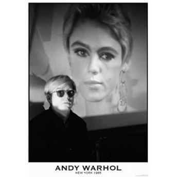 アンディ・ウォーホル ポスター/Andy Warhol フレーム付