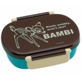 バンビ ディズニー 食洗機対応 タイトランチボックス 小判型 360ml お弁当箱 BANBI QA2BA【BX1359】